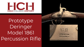 Prototype Model 1861 Deringer Percussion Rifle