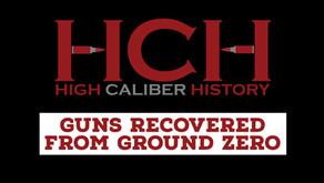 Guns Recovered from Ground Zero