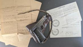 WWII Trophy - Beretta M1934 Pistol