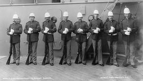 Trapdoor Rifles, Marines, and the USS Massachusetts