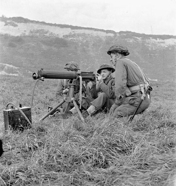 vickers machine gun, logan metesh, high caliber history