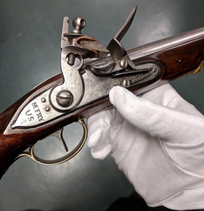 Martin Fry martial military pistol