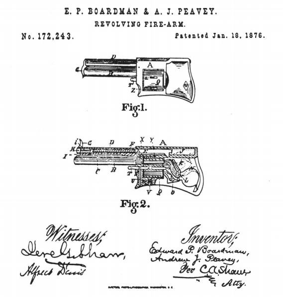 Little All Right, patent, drawing, pistol