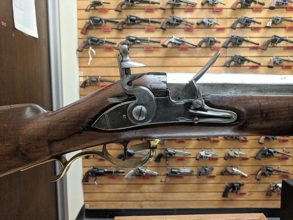 Rappahannock Forge, wall gun