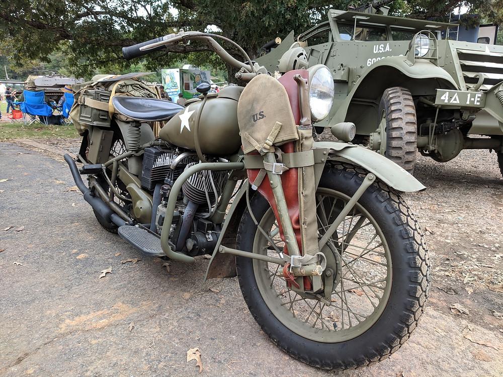 Indian, motorcycle, 640-B