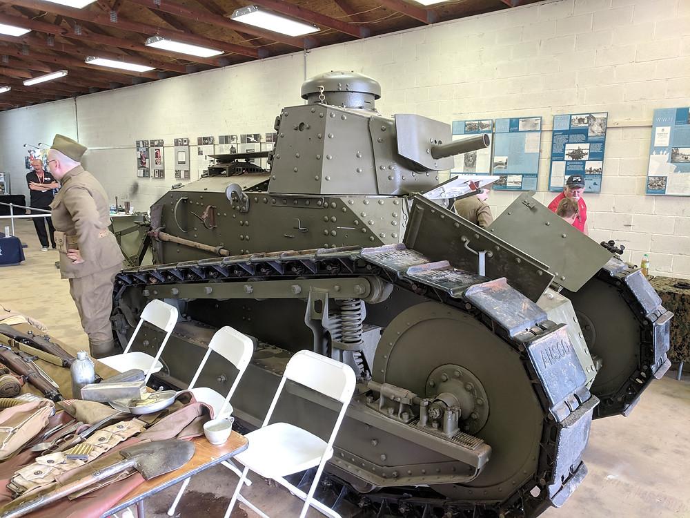 M1917, tank
