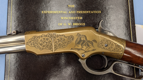 Experimental Henry Winchester Presentation Briggs Rifle