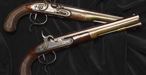 Pistols from the Hamilton-Burr Duel