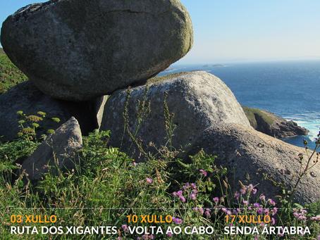 Equiocio activa en julio un programa de senderismo para poner en valor el litoral de Ferrolterra