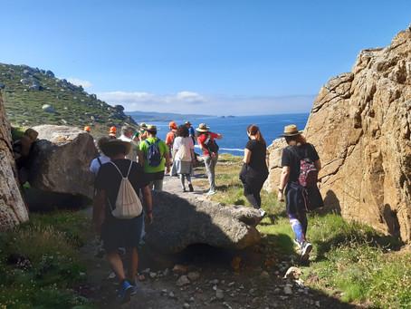 """La Vuelta al Cabo confirma el tirón del ciclo de senderismo """"En ruta con Equiocio"""""""