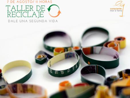 """Equiocio promoverá un taller de reciclaje bajo el lema """"Dale una segunda vida"""""""