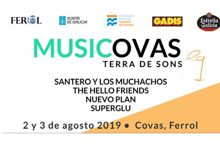 Musicovas, el festival pop-rock de Equiocio