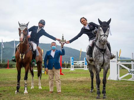 José Luis Milán y Javier González, vencedores ex aequo del Gran Premio Cidade de Ferrol de Equiocio