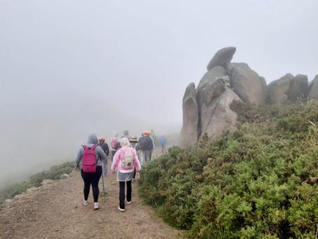 """Arranca el programa de senderismo de Equiocio con la """"Ruta de los gigantes"""""""