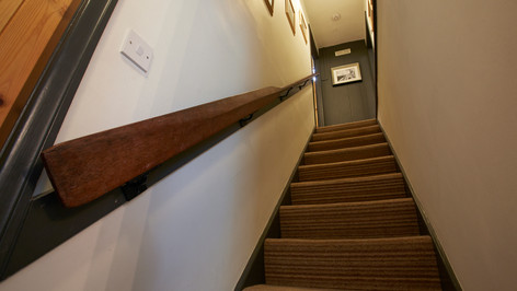 Oar-inspiring handrail!