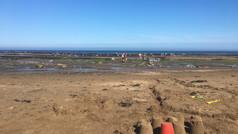 Sandcastle fun!