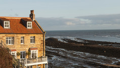 A friend's neighbouring house overlooking the beach!