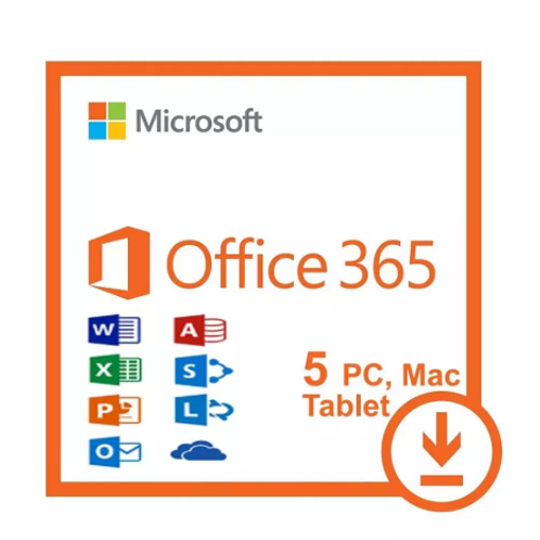 Office 365 Pro Plus 2019 Lifetime Account 5 Pc / 5 Mac & 5TB Fast Deli