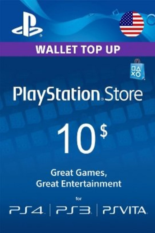 copy of PlayStation Network Gift Card 10 USD United States