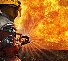 Övervakning av bränder
