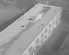 Inspektion hustak värmekamera drönare