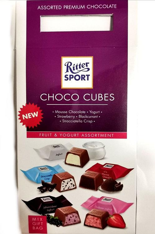 Ritter Sport Choco Cubes Fruit & Yogurt Assortment