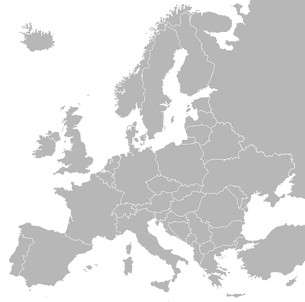 Europe - Map - Grey - Simple.png