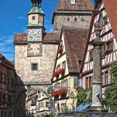 Rothenburg ob der Tauber. One of the best towns I have ever been to.
