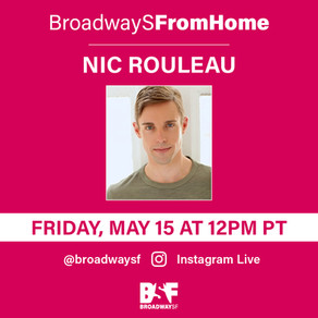 Instagram LIVE with @BroadwaySF
