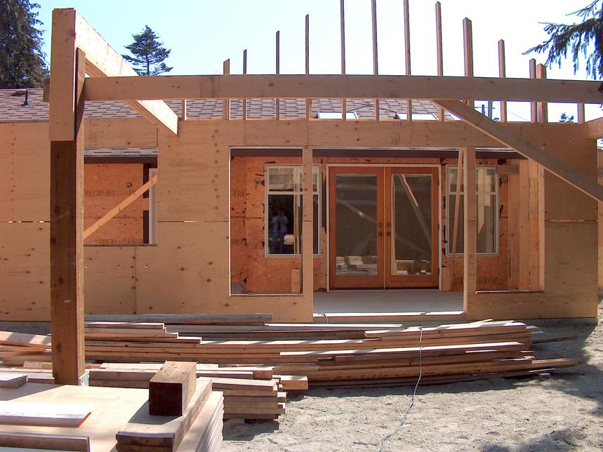 Addition under construction