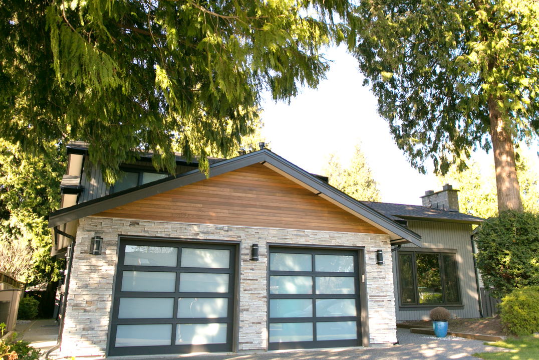 Addition and renovation to existing house