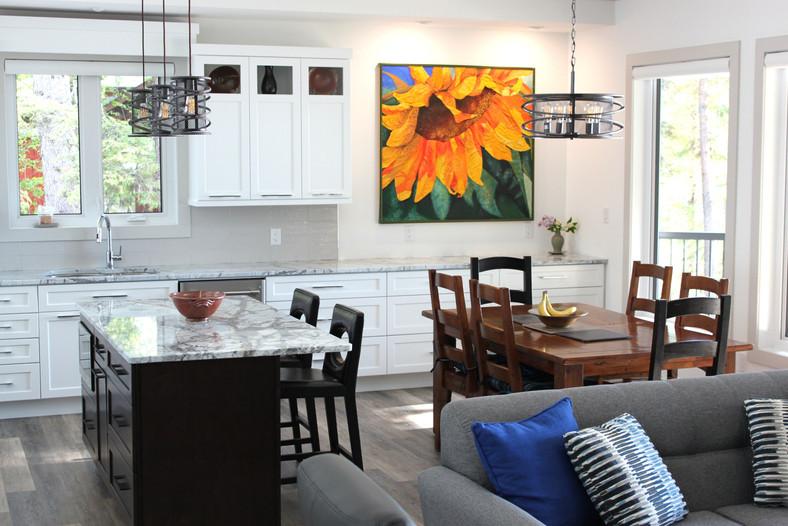New custom house interior