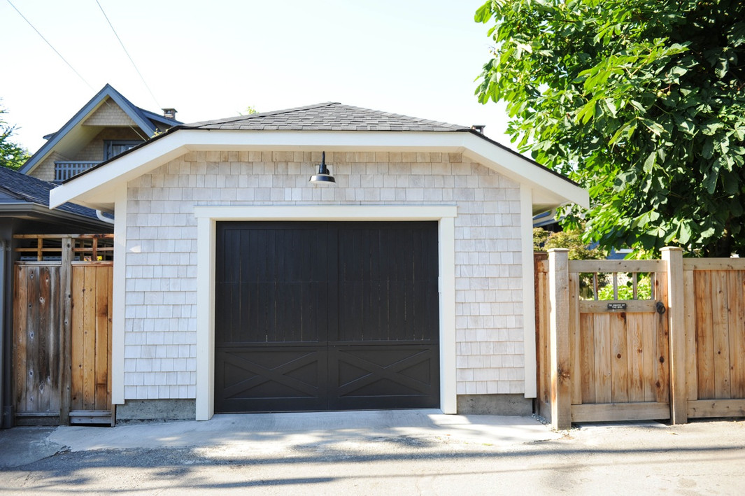 New detached garage