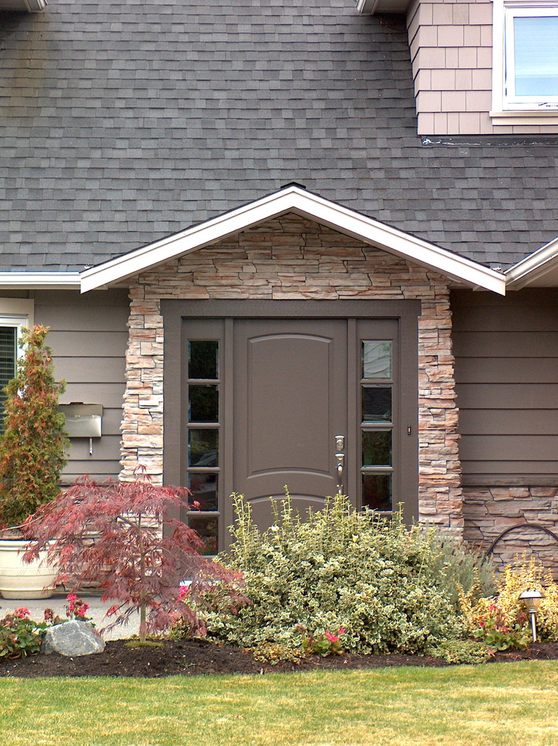 New front entry