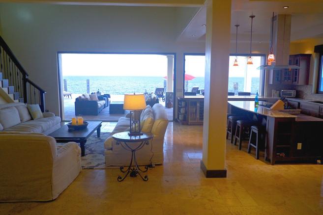 New vacation house interior