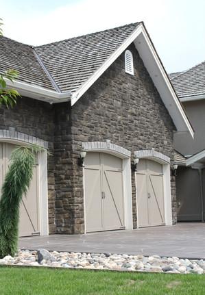 New custom house exterior