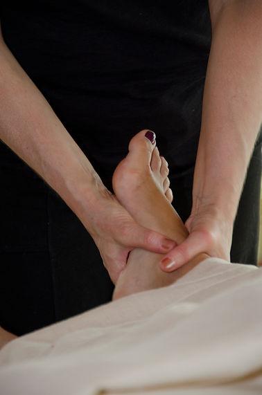 Foot Massage, Table Massage