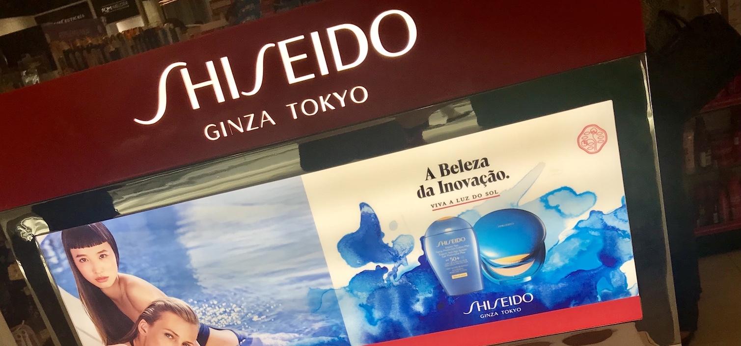 Gôndola Shiseido