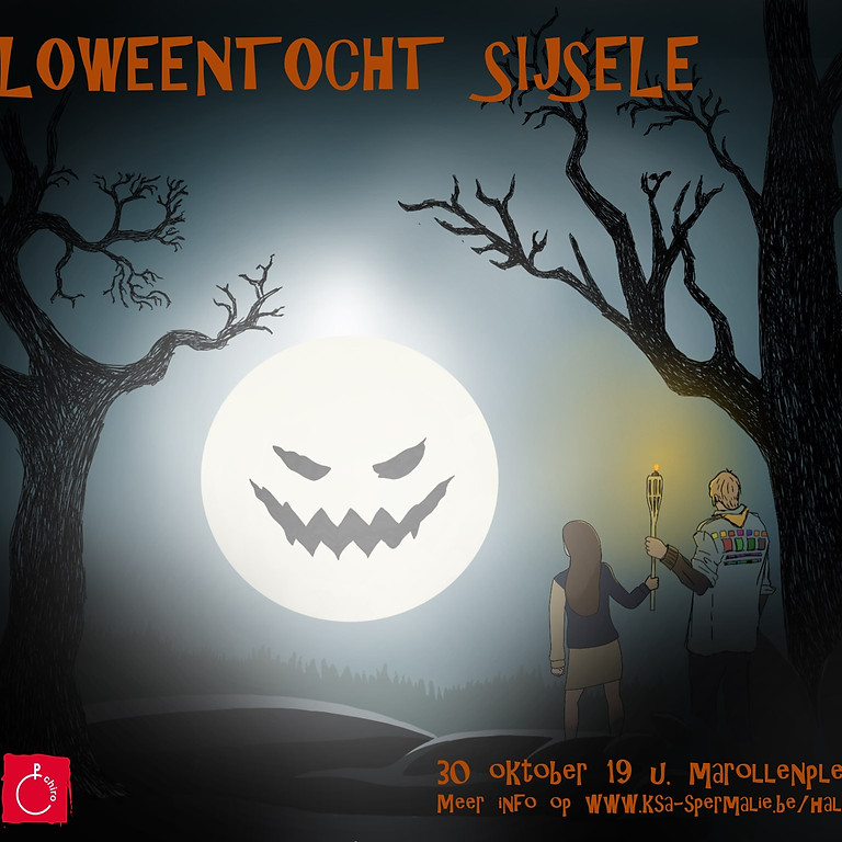 Halloweentocht Sijsele