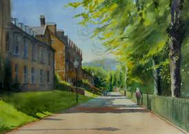 May morning on Broad Walk - SOLD