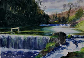 Lathkill weirs - SOLD