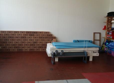 Nous avons le plaisir de vous annoncer que nous avons enfin une salle d'entraînement à Sainte-Croix