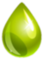 Green Water Drop - Coillection Logo