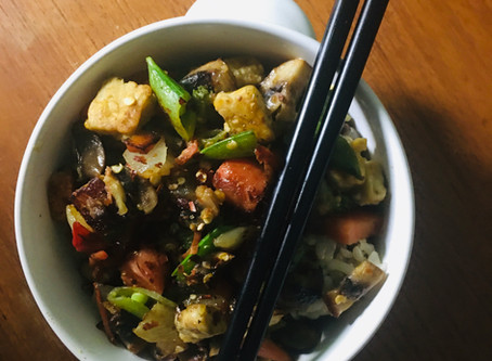 💛Vegan Veggie Stir Fry💛 w/tempeh