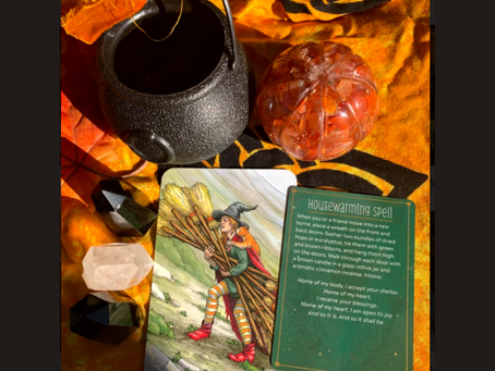 👻10 Days of Tarot with Julie Ann Fae: Samhain Countdown!👻