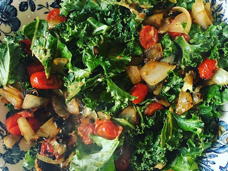 Fairy Foodie Feature: Italian Kale Salad
