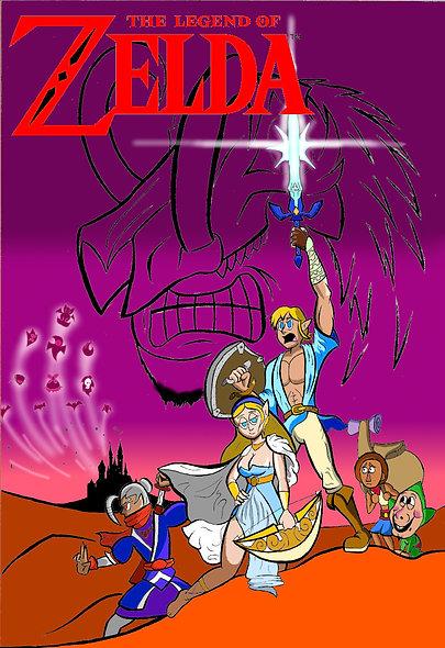 The Legend of Zelda Movie Poster
