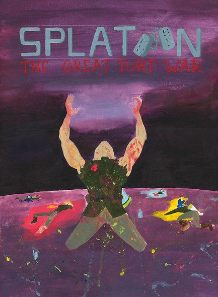 Splatoon Movie Poster