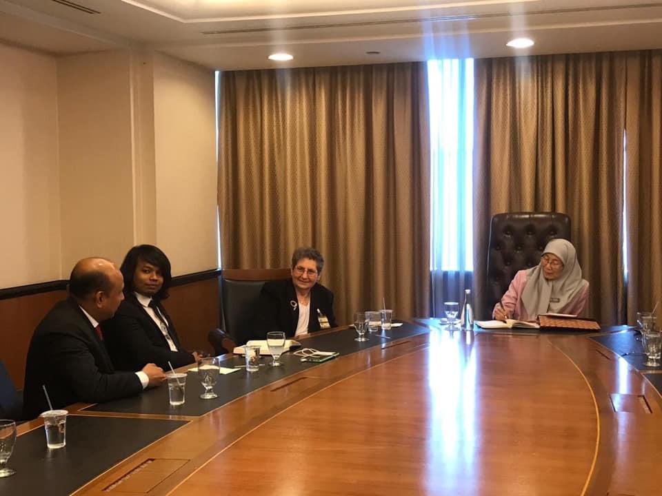Perjumpaan bersama Timb PM
