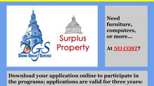 FREE Surplus Supplies for Non-Profits and Small Businesses